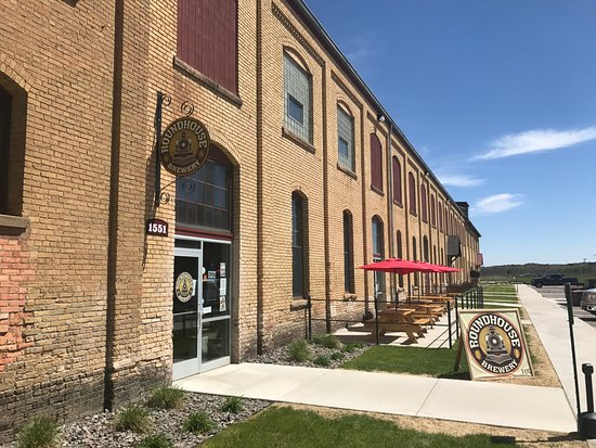 Brainerd, MN : Front of Brewery - located in the Northern Pacific Center