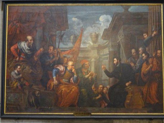 Parochie Onze-Lieve-Vrouw Sint-Pieters Gent: mooi schilderij van Jan Quellinus