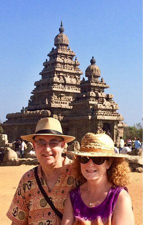 Sea Shore Temple: keep your hats on