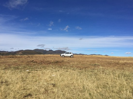 Semonkong, Lesotho: A tiny car like this can make it on a fine day.