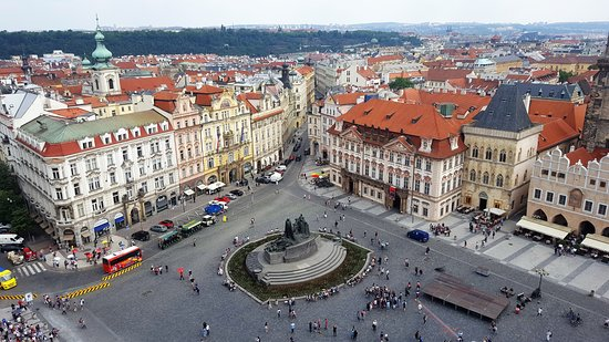 Staromestske namesti: A view from the Bell Tower