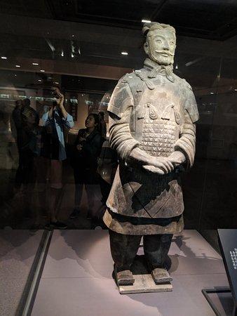 秦始皇兵马俑博物馆照片