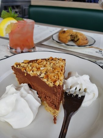 Phoenicia Diner: Fruition Chocolate Peanut Butter Pie