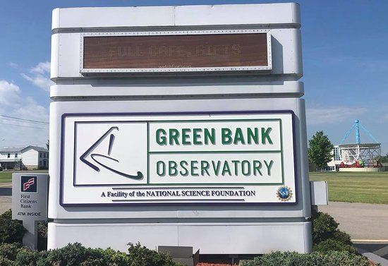 Green Bank, Virginia Occidental: the science center and cafe are a great place to kill time in between and before tours