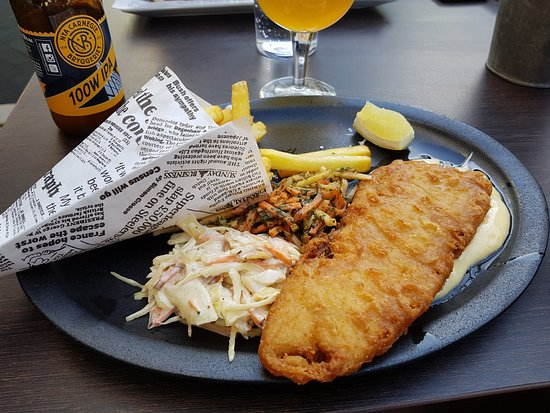 The Steakhouse Kristianstad : Fish and Chips