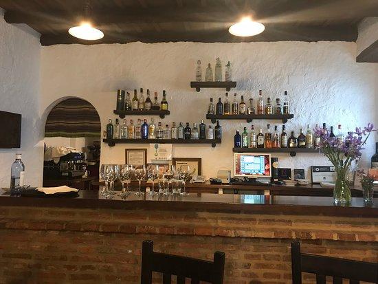Arrieros: bar area