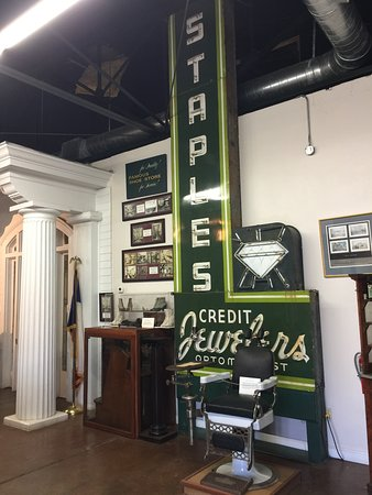 Lamar County Historical Museum: Signs from businesses long gone help tell the story of local stores.