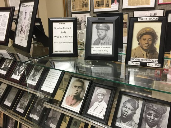 Lamar County Historical Museum: An African American room highlights the importance of their contributions both local and nationa