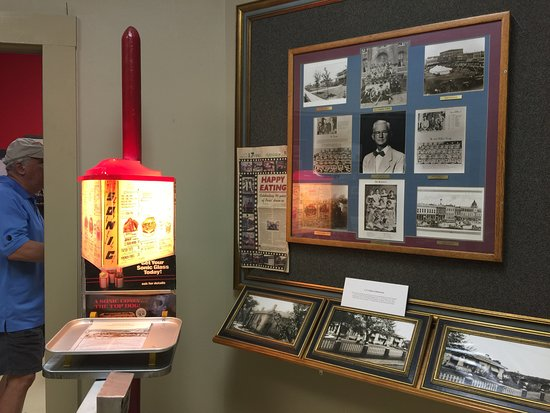 Lamar County Historical Museum: The Paris Sonic Drive-In was one of the first of the franchise and popular spot for teenagers.