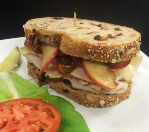 Mifflinburg, PA: Sweet Apple Turkey Sandwich