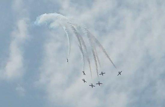 Jones Beach State Park: Air show