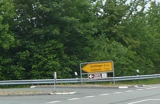 Einbeck, Duitsland: Abfahrt zur Saline