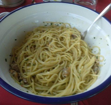 Vecchiano, Ιταλία: spaghetto volngole veraci