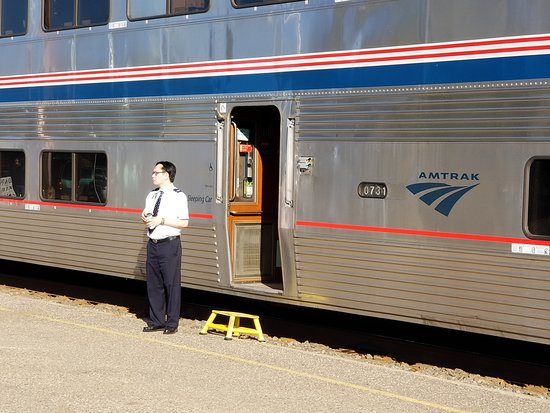 Empire Builder: Jimmy was our car attendant, and did a GREAT job.