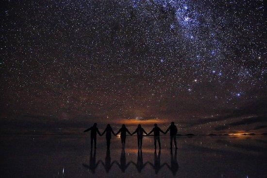 Resultado de imagen de foto uyuni noche