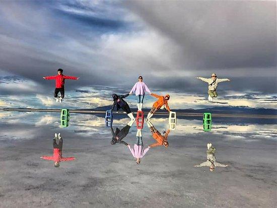 Brisa Tours : Salar de Uyuni - Efectos visuales