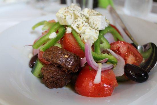 Arcadia Restaurant: greek salad