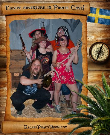 Pirate Cave: Successfull mission on the land of the pirates. Congratulation!