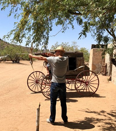 Western Destinations Canyon Creek Ranch - Tours: The Target Practice