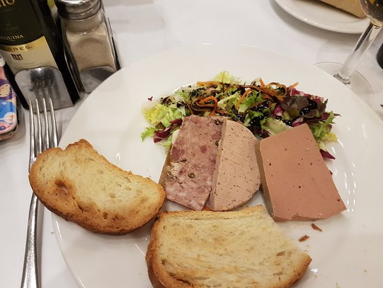 Hotel Mola Park Restaurant: Primer plato