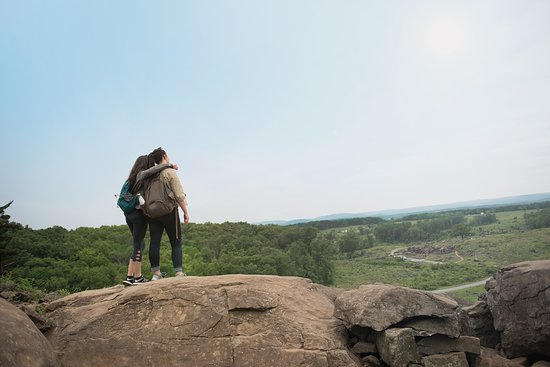 Gettysburg, PA: Hiking at Little Round Top
