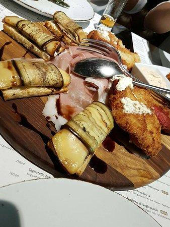 Restoran Ustanicka: Pohovana paprika i plavi patlidzan