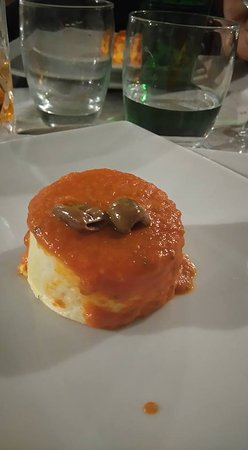 Osteria Risi.Co : Entrée chaude : polenta