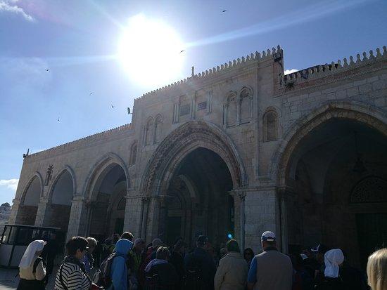 เนินพระวิหาร: Al-Aqsa Mosque