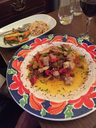 Konak Meze Turkish Restaurant: main meal