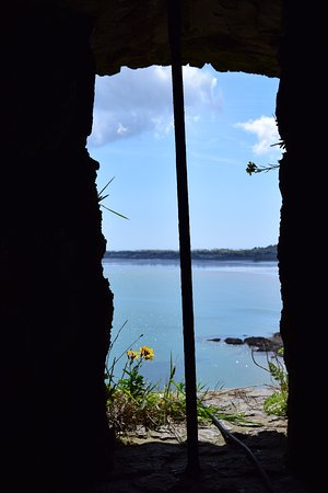Gorey, UK: View from Turret across Bay of Grouville