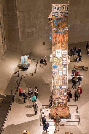 9/11国家纪念博物馆照片