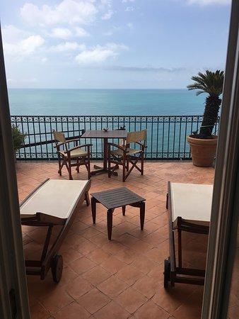 Hotel Botanico San Lazzaro: Our private balcony