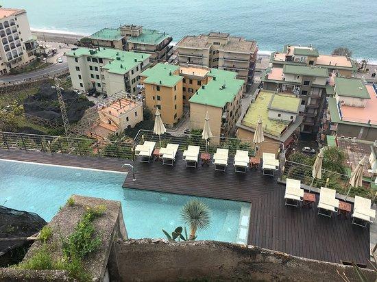 Hotel Botanico San Lazzaro: View from dining area