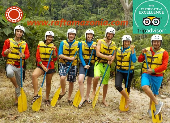 Tena, Ecuador: Time for adventure on the Napo river 100% Adrenaline