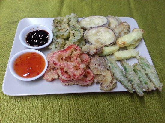 Hong Kong Restaurant Blanes: Verduras en Tempura // Mixed Vegetables in Tempura