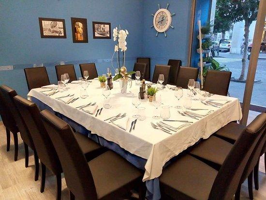 L'Antica Nassa: Tavolo imperiale per una serata speciale