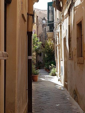 Ortigia: une ruelle
