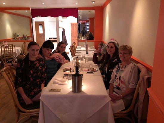 Spice Zone Tonbridge: Birthday party