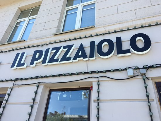 IL Pizzaiolo : вывеска
