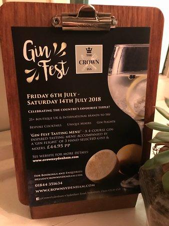 Sydenham, UK: Gin Fest 2018...