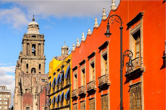 Mexico City boasts a myriad of architectural styles