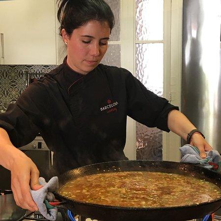 巴塞罗那烹饪课照片