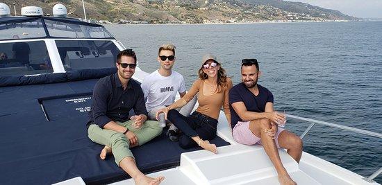 Remedy Yacht: Cruising by Malibu