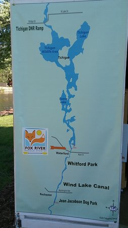 Fox River Paddle Sports: Renters have the option of paddling above or below the dam in Waterford.
