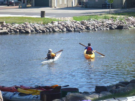 Fox River Paddle Sports: From Waterford downstream to Rochester, you will likely only see other paddlers.