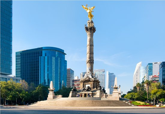 Mexico City, Mexico: The Angel of Independence is a shining beacon of the Mexican Revolution and popular photo opp