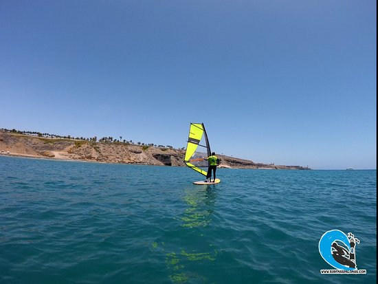 Surf Maspalomas: wind surf at Maspalomas