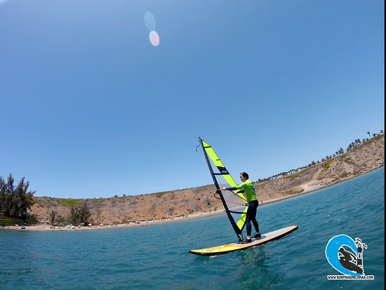 best way to windsurf in our school surf maspalomas Nº1 school gran canaria