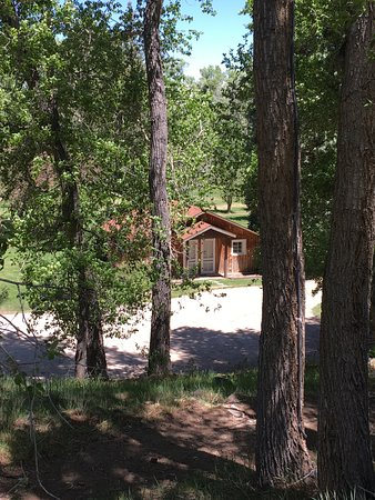 River Orchard Place: Cute cabins
