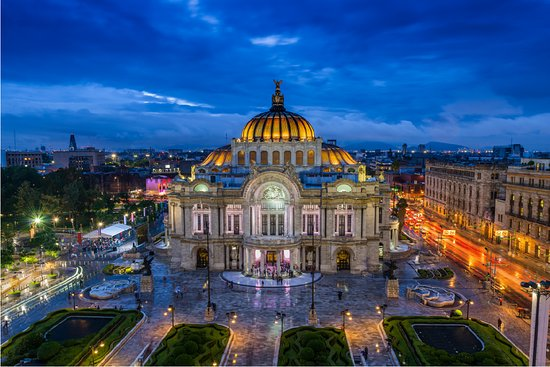 Mexico City, Mexico: The Fine Arts Palace, or Palacio de Bellas Artes, is an iconic site and venue for art and music